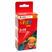 Agfa Vista 200 135/36 3-pack